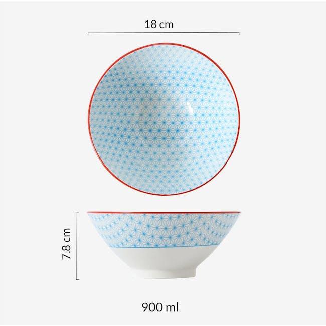 Table Matters Starry Blue Ramen Bowl (2 Sizes) - 2