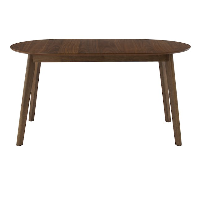 Werner Extendable Oval Dining Table 1.5m with 4 Riley Dining Chairs - 2