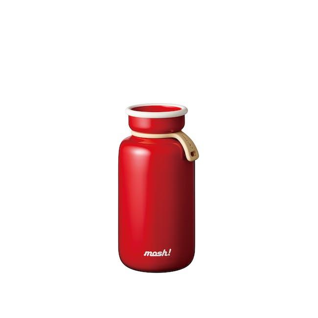 MOSH! Latte Bottle 450ml - Red - 0