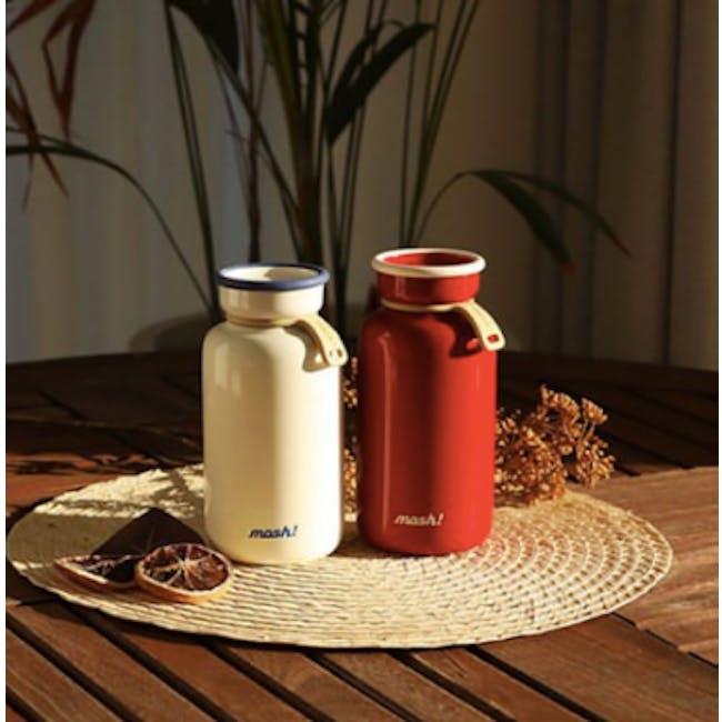 MOSH! Latte Bottle 450ml - Red - 1
