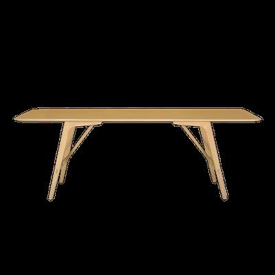 Fidel Dining Table 2.2m - Oak - Image 2