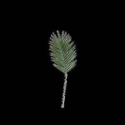 Faux Palm Leaf Branch - Image 1
