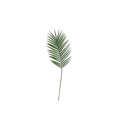 Faux Palm Leaf Branch - Image 1