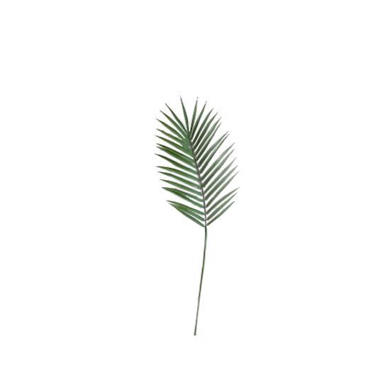 1688 - Faux Palm Leaf Branch