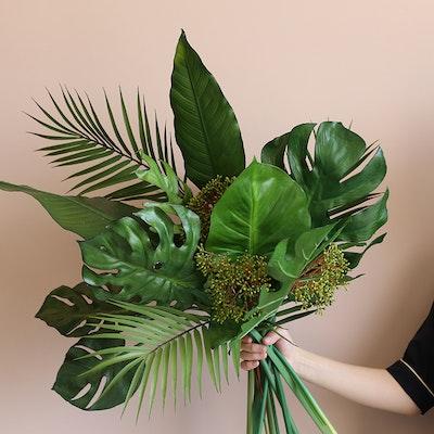 Faux Palm Leaf Branch - Image 2