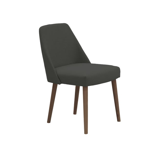 Ralph Dining Table 1.5m in Cocoa with 4 Miranda Chairs - 3