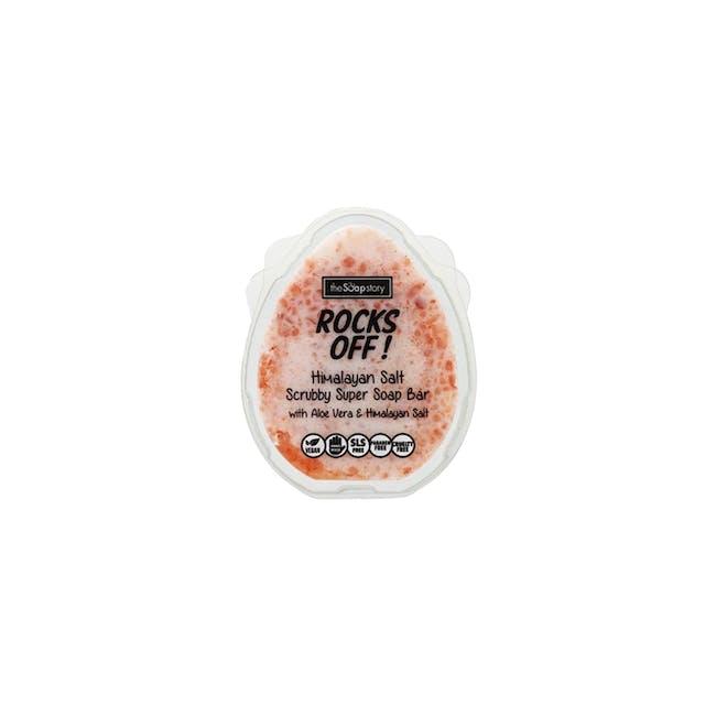 Rocks Off Himalayan Salt Scrubby Super Soap 100g - 0