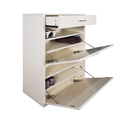 Stanley Shoe Cabinet - Cream