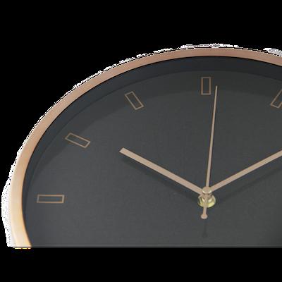 Pellicano Wall Clock - Black, Copper - Image 2