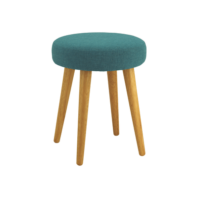 Oprah Stool - Natural, Parsley - Image 1