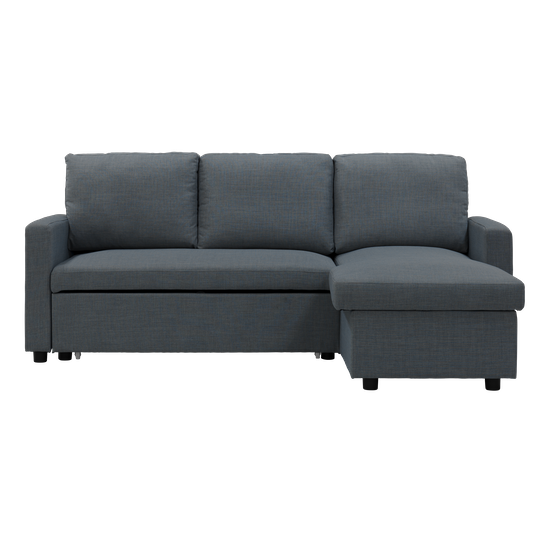 Apartment Sofas By Hipvan Mia L Shape Sofa Bed With Storage