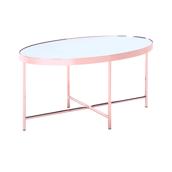 Helga - Xander Oval Coffee Table - Copper