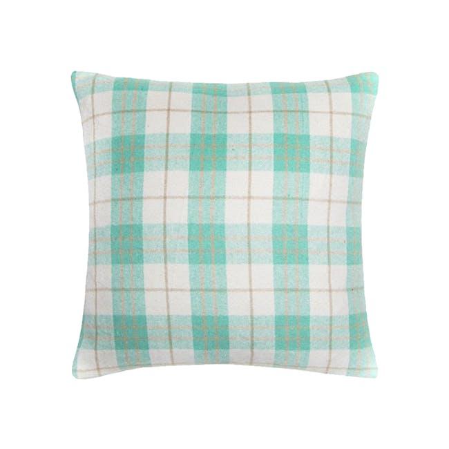 BRAXTON Cushion Cover - Aqua - 0