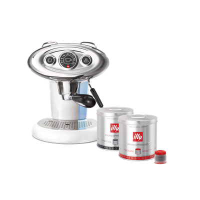 illy X7.1 iperEspresso Coffee Machine - White