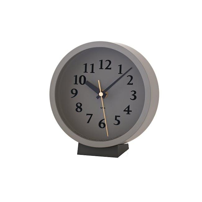 M Clock - Grey - 0