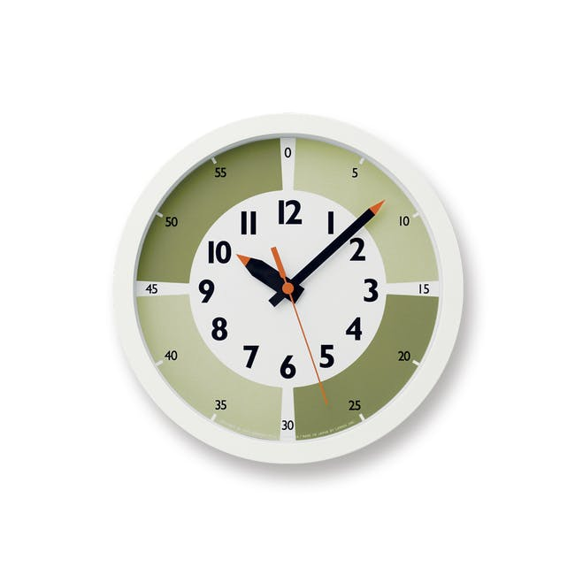 Montessori Fun Pun Clock Colour - Green - 0