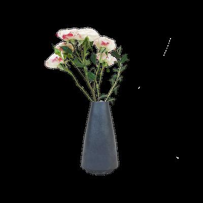 Nordic Matte Vase Cylinder - Matte Black - Image 1