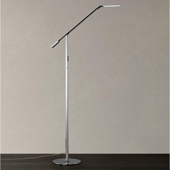 Koncept Equo LED Floor Lamp - Chrome - 2
