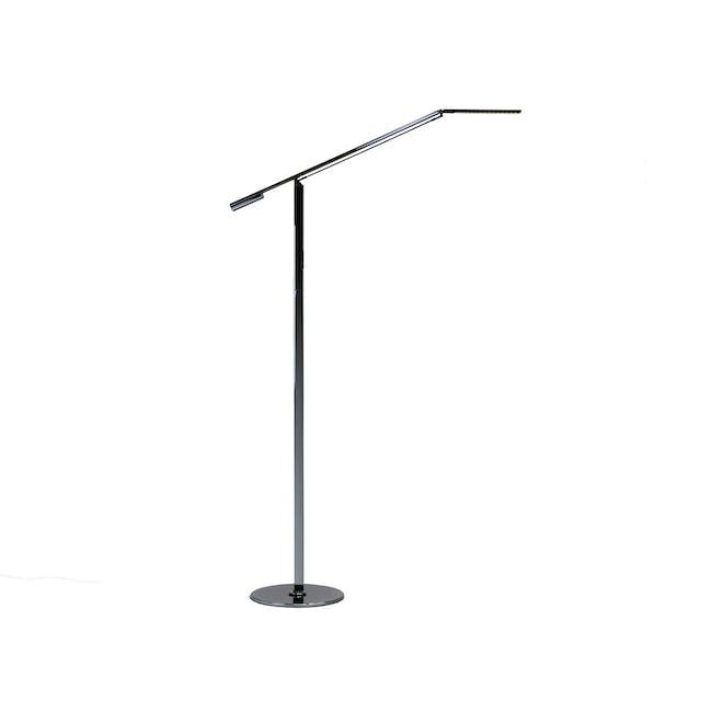 Koncept Equo LED Floor Lamp - Chrome - 0