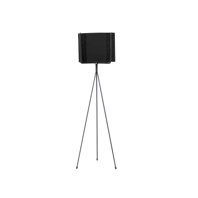 Logan Floor Planter - Black - Image 1