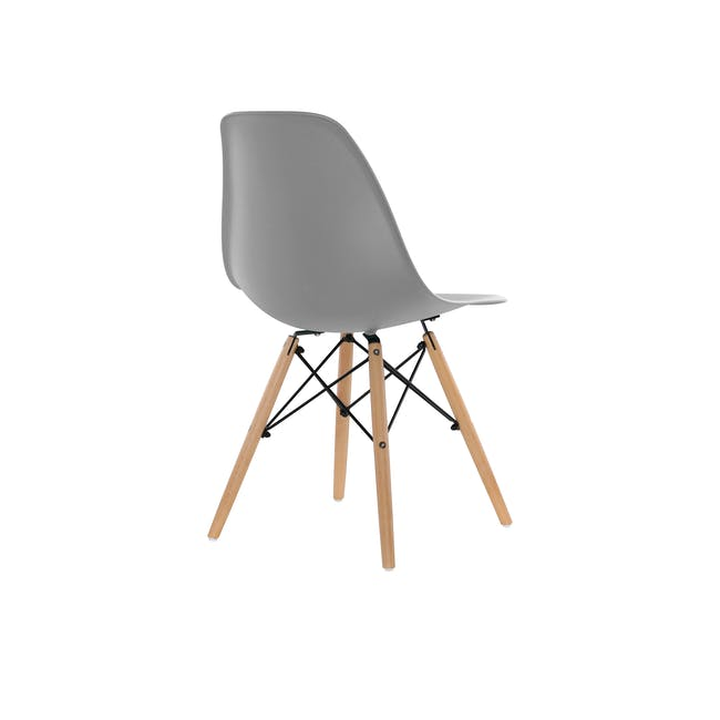 DSW Chair Replica - Natural, Grey - 3