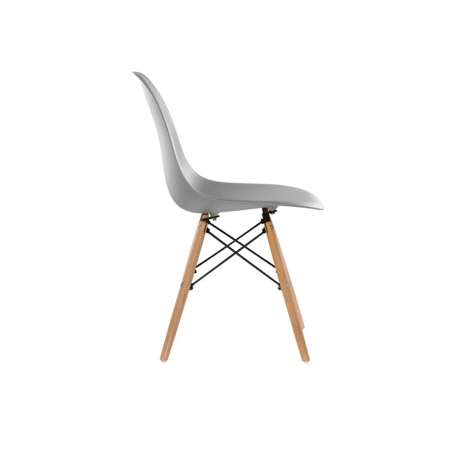 DSW Chair Replica - Natural, Grey - 1