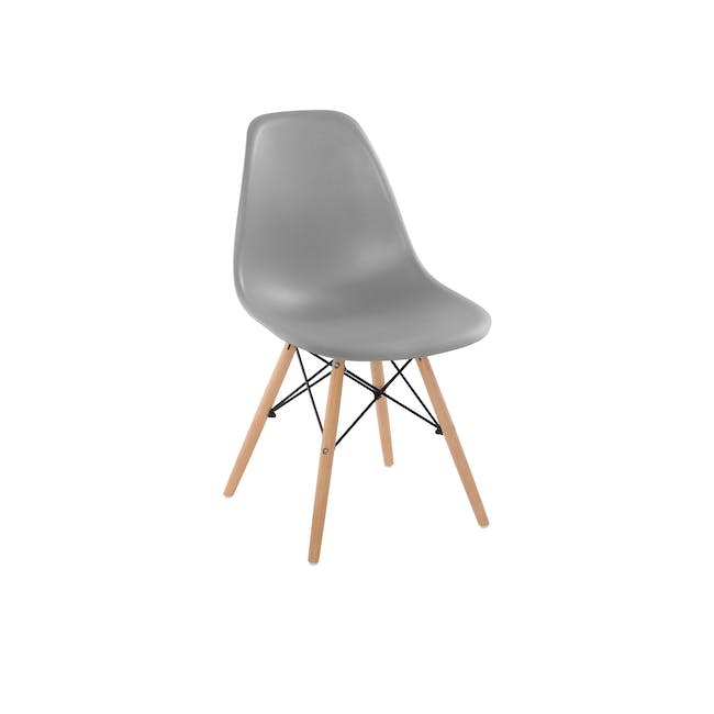DSW Chair Replica - Natural, Grey - 0