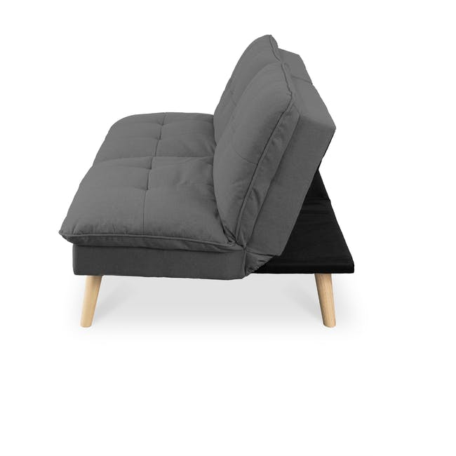 Jen Sofa Bed - Pigeon Grey - 3