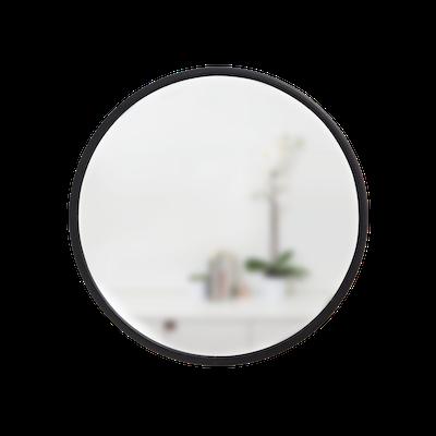 Hub Round Mirror 61 cm - Bezel Black - Image 2