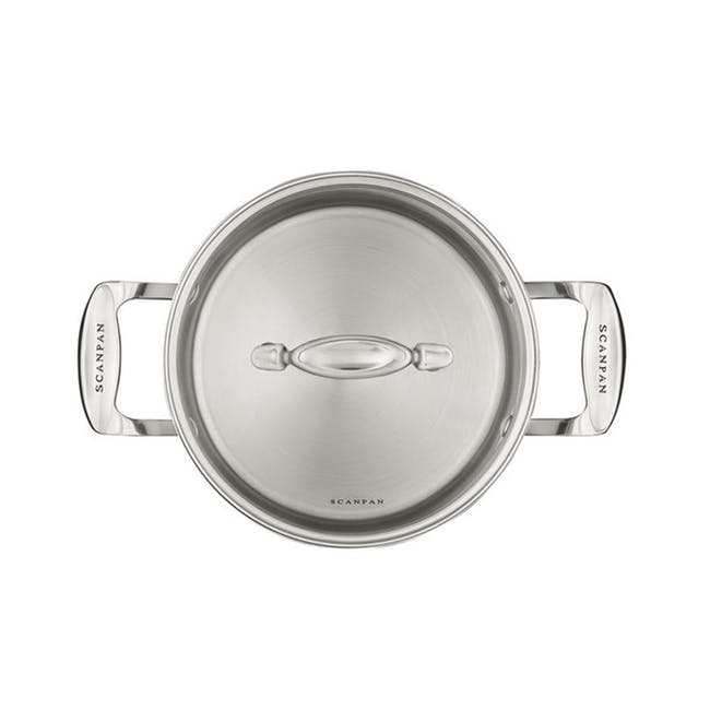 SCANPAN Impact Stainless Steel Dutch Oven (2 Sizes) - 1