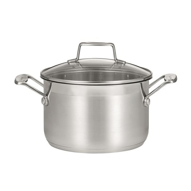 SCANPAN Impact Stainless Steel Dutch Oven (2 Sizes) - 0