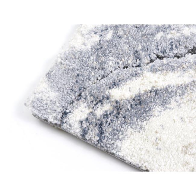 Valentino High Pile Rug 2.9m x 2.0m - Blue Marble - 3