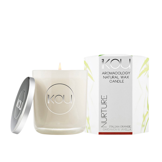 iKOU - NURTURE Candle - Orange, Cardamom & Vanilla