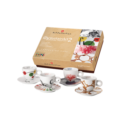 illy Art Collection - SustainArt #2 Espresso Cups (Set of 4) - Image 1
