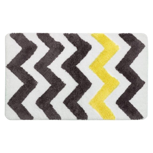 City Chevron Floor Mat - Yellow - 0