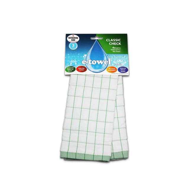 e-cloth Eco Tea Towel / Dish Cleaning Cloth - Green - 0