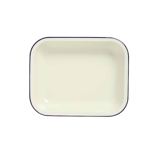 Wiltshire Enamel Oblong Baking Dish (2 Sizes) - 1