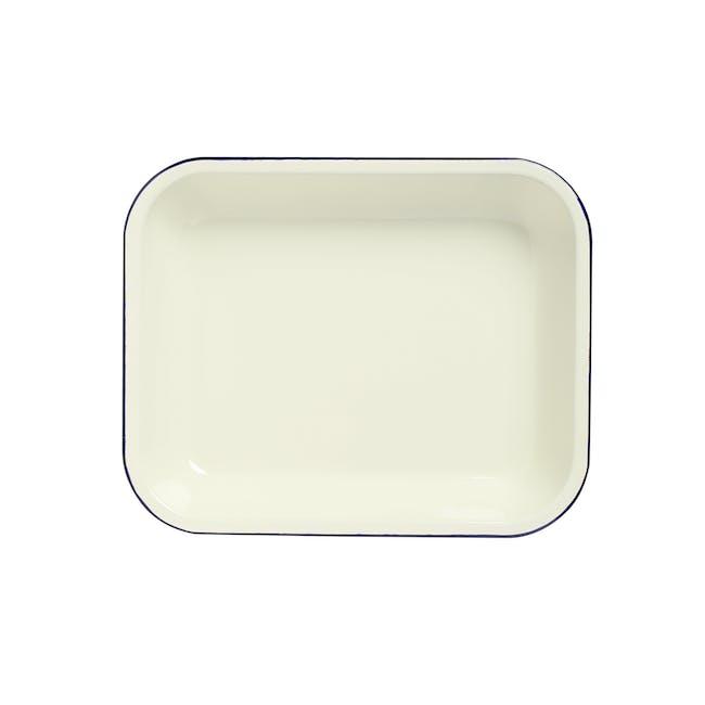 Wiltshire Enamel Oblong Baking Dish (2 Sizes) - 0