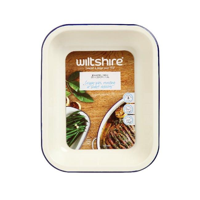 Wiltshire Enamel Oblong Baking Dish (2 Sizes) - 2