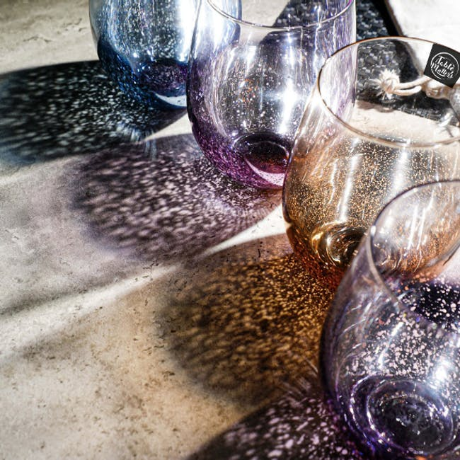 Table Matters Taikyu Luster Glass 530ml - Gold - 2