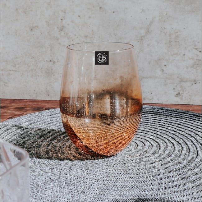 Table Matters Taikyu Luster Glass 530ml - Gold - 1
