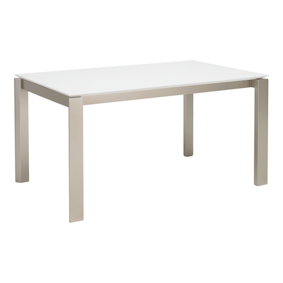 Elwood 6 Seater Dining Table - White