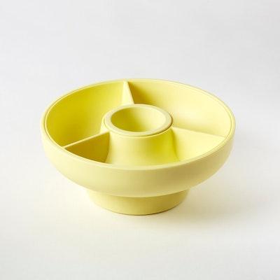 Hoop 2 Serving Bowl - Pale Yellow - Image 1