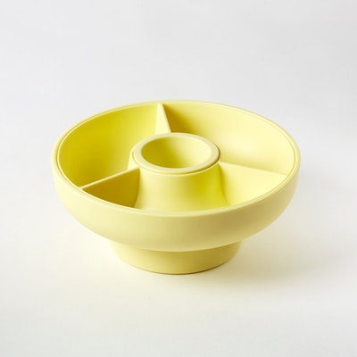 Hoop 2 Serving Bowl - Pale Yellow