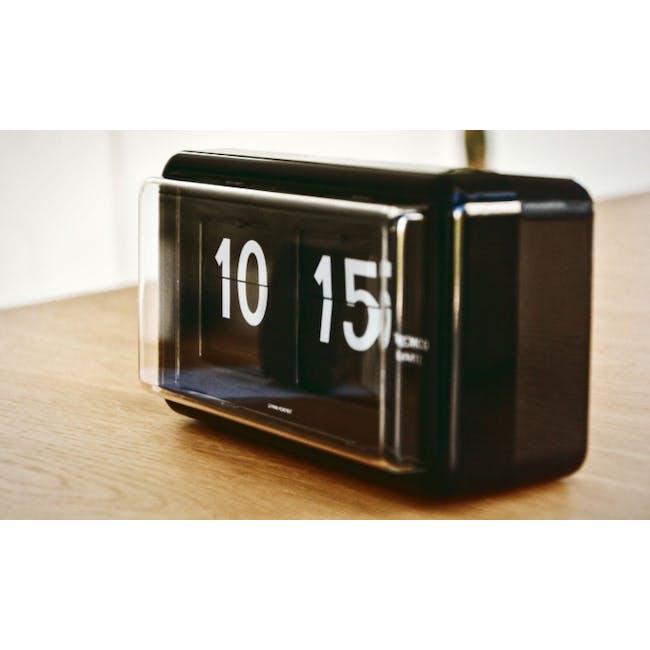 TWEMCO Table Clock - Black - 4
