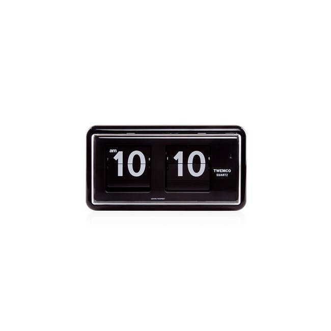 TWEMCO Table Clock - Black - 0