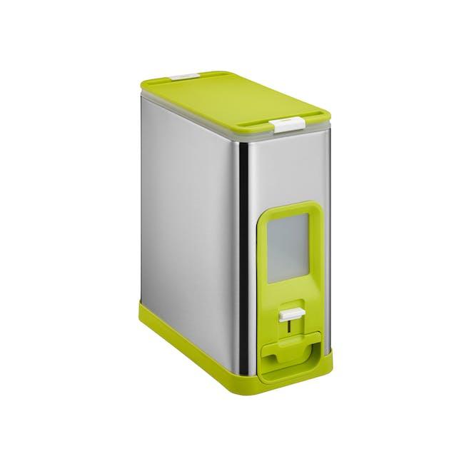 EKO Milano Stainless Steel Rice Dispenser (2 Sizes) - 0