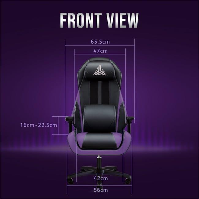 OSIM uThrone Gaming Massage Chair - Self Assembled - Orange - 10