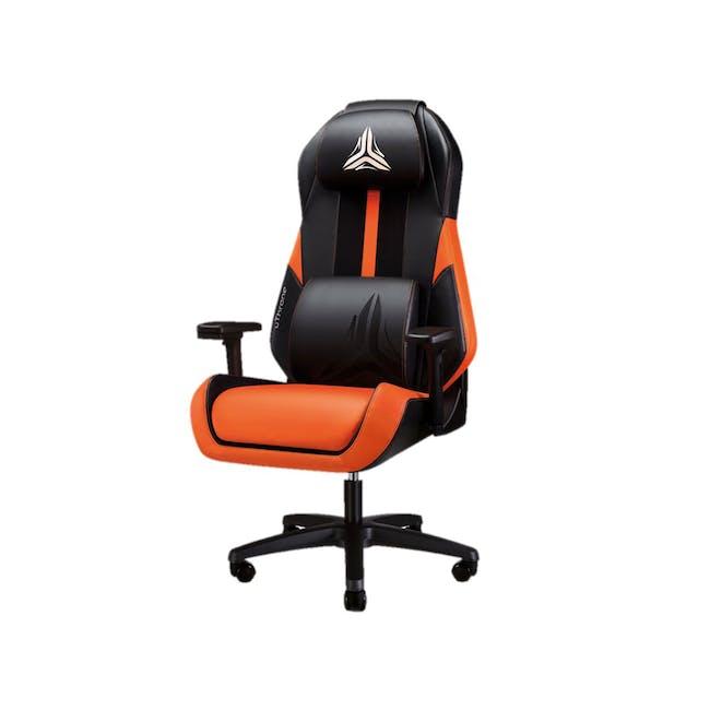 OSIM uThrone Gaming Massage Chair - Self Assembled - Orange - 0