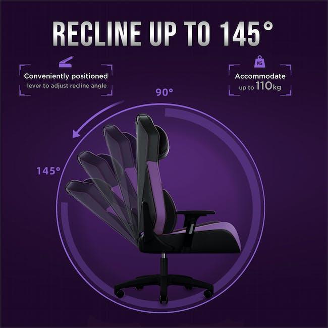 OSIM uThrone Gaming Massage Chair - Self Assembled - Orange - 7